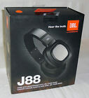 JBL by Harman J88 Premium Over-Ear Headphones with JBL Pure Bass (Black)