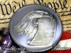 1 troy oz silver EAGLE W/CONSTITUTION Round DIVISIBLE .999 fine -see Bonus Offer