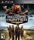 Cabela's Big Game Hunter: Pro Hunts  (Sony Playstation 3, 2014)
