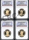 2013 S PRESIDENTIAL DOLLAR SET NGC PF70 ULTRA CAMEO