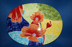 Baum Bros. Style Eyes Red Poppy Collection Platter/Plate