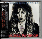 Sacred Warrior Wicked Generation Japan CD,Obi Rare