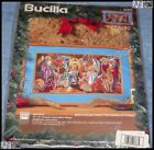 Bucilla NATIVITY Counted Cross Stitch Picture Kit Nancy Rossi Magi USA