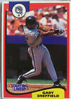 1994 Starting Lineup Gary Sheffield Florida Marlins Baseball Card