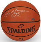 KOBE BRYANT Signed (In Silver) Authentic Spalding Basketball PANINI