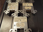 EST / EDWARDS M500CFS RELAY  MODULES WITH COVER PLATES LOT OF 3 FAST SHIPPING