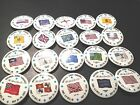 1985 NATIONAL SCOUT JAMBOREE SUB-CAMP PIN SET CONSISTING OF 20  DIFFERENT PINS