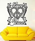 Wall Stickers Vinyl Decal Peace Love Good Positive Home Decor ig1892