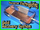 Gold Silver Recovery system, Reverse Electroplating, Scrap kit Sluice machine