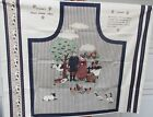 NEW Concord's French Country Apron Fabric Panel Cut & Sew