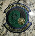 USAF PATCH, 109TH SECURITY POLICE SQUADRON,