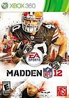 Madden NFL 12 Xbox 360 Video Game