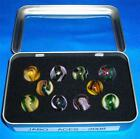 Jabo -  Aces - Marble Set - 2008 - Clear Window Tin - Awesome  111913-3  RK  TN