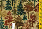 Stonehenge Wilderness 399161 68 Quilt fabric Cotton 1 yard by Northcott Trees