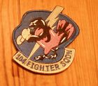 USAF PATCH, 104TH FIGHTER SQUADRON, WITH VELCRO
