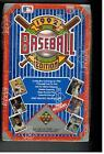 1992 UPPER DECK LOW SERIES BOX 36 PACKS TED WILLIAMS HEROES AUTOGRAPHS