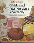 Betty Crocker's Cake and Frosting Mix (1966 HC Spiral Bound) Golden Press 1st Ed