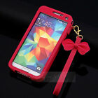 HOT Leather Chain Wristlet Strap Pouch Sleeve Case for Samsung Galaxy S5 I9600