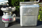 COLEMAN LANTERN & STOVE CO MODEL 550B SINGLE BURNER STOVE WITH COOK KIT MILITARY