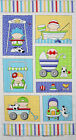 Bald Headed Babe Baby & Puppy Dog Panel  cotton quilt fabric Timeless Treasure