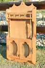 8213/ Vintage Kitchen Curio / Whatknot / Wall Cabinet / Small Cubbard / Cups