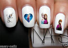 NAIL ART WATER TRANSFER DECALS STICKERS PARTY FAVOURS DISNEYS FROZEN b