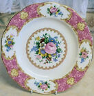 Royal Albert Lady Carlyle Entree / Salad Plate 20.5 cm 1944 Bone China England