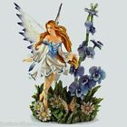Nene Thomas Prelude of Flowers Blue Statue Figure Fantasy Fairy Spring Orchid