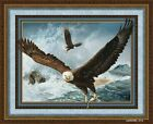 QUEST OF THE HUNTER EAGLE WALL PANEL FABRIC