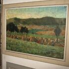 Excellent double sided signed in Cyrillic impressionist Russian oil circa 1880