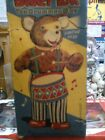 BARNEY BEAR THE DRUMMER BOY BY CRAGSTAN TOY.VINTAGE 1707