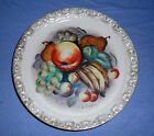 Vintage Hand Painted Banana Apple Fruit Porcelain China Japan Plate Dish Kuzuya