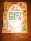 Vtg 1960 BETTY CROCKER'S Party Book COOKBOOK - First Edition First Printing