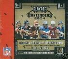 2004 Playoff Contenders Football Hobby box