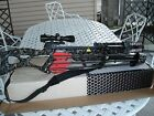 New 2013 PSE Enigma Crossbow Package 4x32 Scope, Quiver, 4 Bolts & Rope Cocker