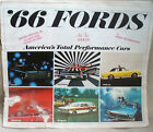 1966 FORDS...SALES BROCHURE...AMERICA'S TOTAL PERFORMANCE CARS