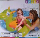 Intex Inflatable Ride-on Pool/Beach Float Toy DRAGON New In Box ~ Factory Sealed