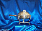 Chafing Dish FB Rogers Silver Co 1883 VTG Holloware W Stand Handle & Lid 1144