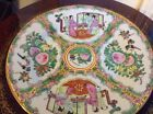 Chinese Medallion Canton Plate, Made In China. Hand Decorated 10