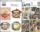 Butterick Pattern 4225 Four Season Wreaths & McCall's Craft 3367 Pattern Holiday