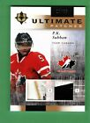 2011-12 UPPER DECK UD ULTIMATE COLLECTION P.K. SUBBAN DUAL PATCH 10 35 CANADA