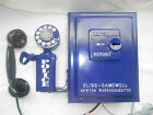 Gamewell POLICE Call Box Telephone Phone Sheriff Vintage Antique Fire Alarm