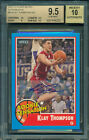 KLAY THOMPSON 2011 FLEER RETRO AUTO ROOKIE SENSATIONS BGS 9.5 10 WARRIORS