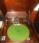 Victor Victrola Walnut Antique Phonograph Record Player Model VV 90 Recoton
