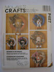 McCall's #P487 Holiday Seasonal Wreath Seasons Craft Sewing Pattern UNCUT