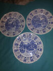 LOT OF 3 ALFRED MEAKIN STAFFORDSHIRE ENGLAND 1972,1973,1974 CALENDAR PLATES