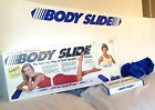 Body Slide Aerobic Mat Lateral Exercise Hockey Training w/ Booties 6 Feet