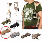 Tactical Shoulder Holster w Double Magazine Pouch Fr SW SD9VE SD40VE Pistol TAN