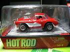 AW AFX AURORA. HOT ROD MAGAZINE RED 1957 CORVETTE NEW IN CUBE HO SLOT CAR