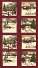 Holly Taylor Seasonal Through the Woods Red Panel 24x44 inches Cotton Fabric